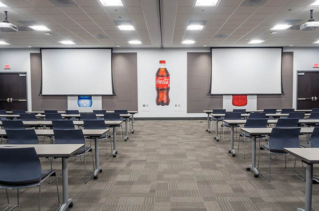 Coca-Cola Training Room