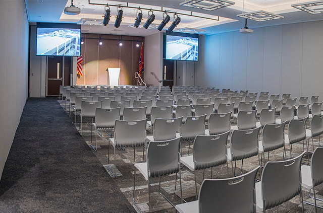 Training and Very Large Meeting Spaces